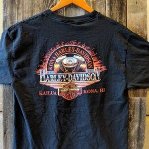 Men's Harley collectible shirt.